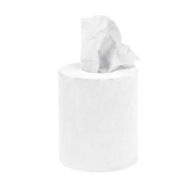 Jantex mini centrefeed handdoekrollen wit 12 rollen