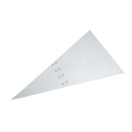 Schneider wegwerpspuitzakken wit 54,5cm