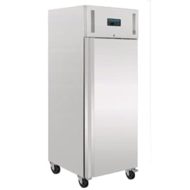 Professionele 1-deurs koeling RVS 650ltr