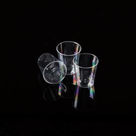 Plastic shotglaasjes 2cl 500 stuks