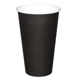 Fiesta koffiebeker enkelwandig zwart 455ml