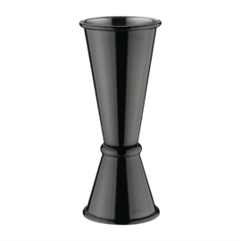 Olympia barmaatje zwart 2,5 en 5 cl.
