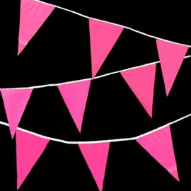 Vlaggenlijnen 10m - roze