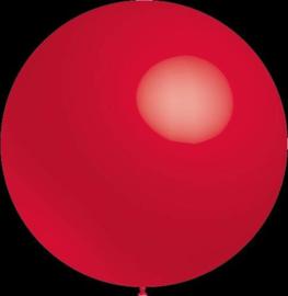 Mega grote ballonnen - 100cm - rood