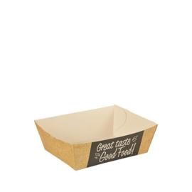 Snackbakje A7 (Good Food), Duurzaam Karton | 9x7cm