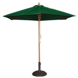 Bolero ronde groene parasol 2,5 meter