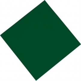 Professionele tissueservetten groen 33x33cm