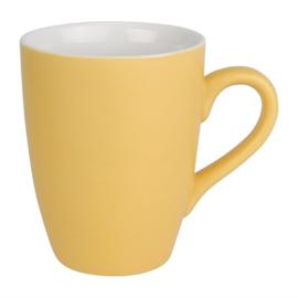 Olympia Pastel mok geel 34cl