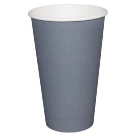Fiesta koffiebekers enkelwandig blauwgrijs 225ml