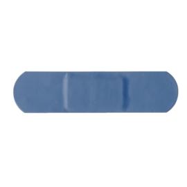 Blauwe standaard pleisters
