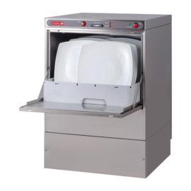 Gastro M vaatwasmachine Maestro 50x50cm 230V met afvoerpomp en zeepdispenser