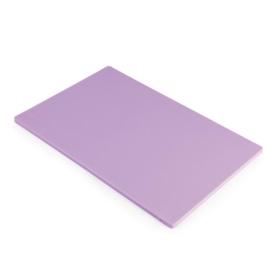 Hygiplas LDPE snijplank paars 45x30x1,2cm
