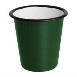 Emaille beker groen 31cl