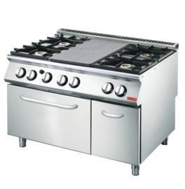 platenfornuis 70/120 TPPCFG  + Oven