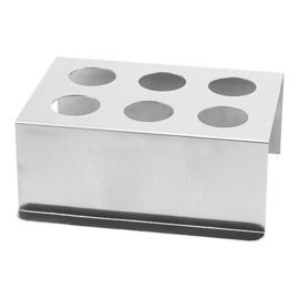 Friteszakjesstandaard aluminium - B