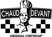 Chaud Devant Hilton Chef jacket wit korte mouw