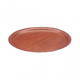 Dienblad fineer mahonie 33cm doorsnede artikel BHj834