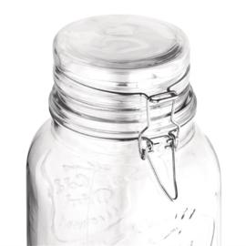 Olympia drankdispenser met tekst en klemdeksel 3,6ltr