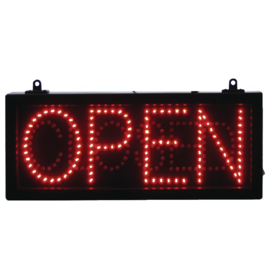 LED-displaybord OPEN CLOSED