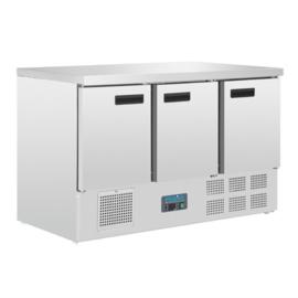 Polar G-serie 3-deurs gekoelde werkbank 368ltr