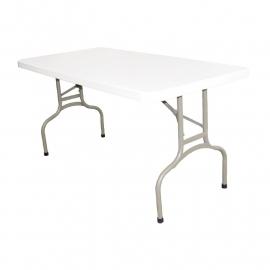 Bolero rechthoekige inklapbare tafel 1,52m