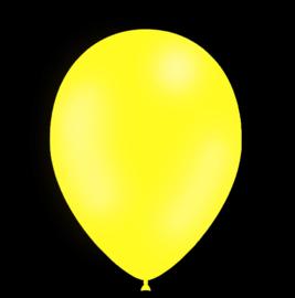 Feest ballonnen - 30cm - geel