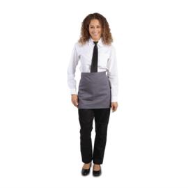 Whites korte sloof grijs met zakken
