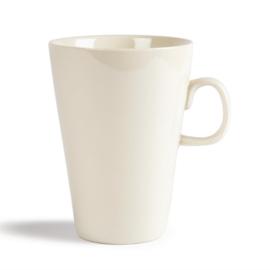 Olympia latte kopjes 400ml ivoren kleur