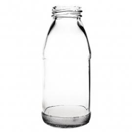 Olympia glazen mini melkfles 20cl