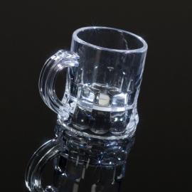 shotglas/shotpul transparant 50 stuks