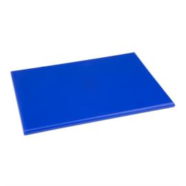 Hygiplas HDPE snijplank blauw klein - 12(h)x300(b)x225(d)mm
