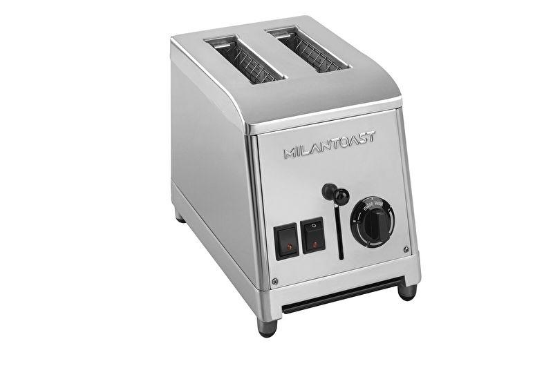 Toaster 2 sleuven RVS