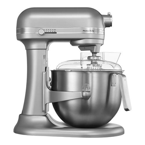KitchenAid keukenmachine K7 Heavy Duty metaalgrijs