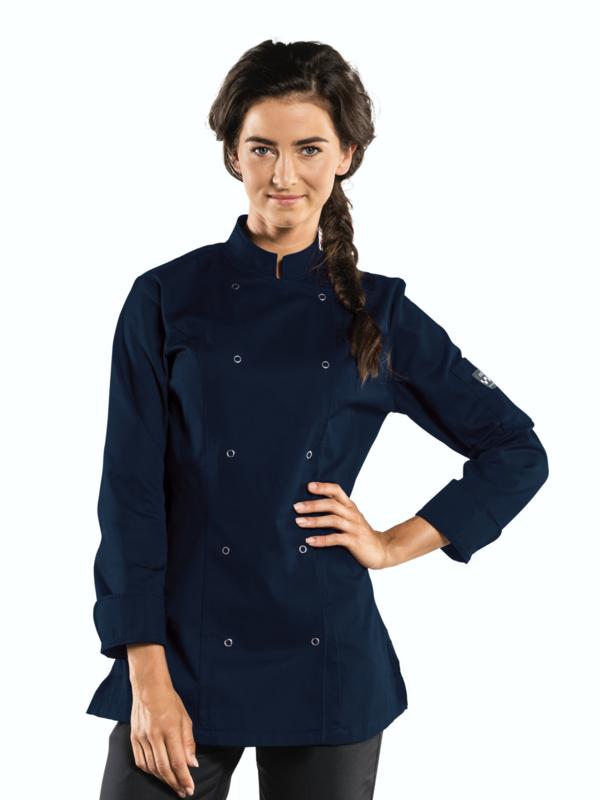 Chaud Devant Chef Jacket Lady Poco Navy