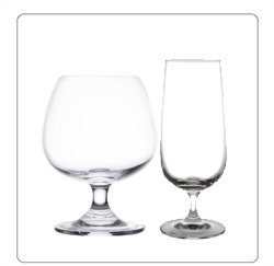 Cognacglazen, bierglazen voor de horeca