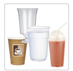 plastic bekers, plastic glazen voor de horeca