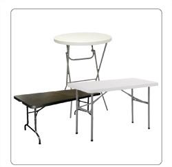 inklapbare tafels voor de horeca