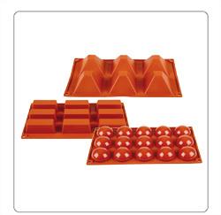 Patisserievormen zoals taartvormen, cake vormen etc voor de horeca