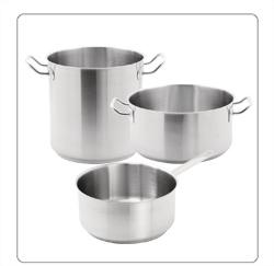 RVS pannen voor de professionele keuken