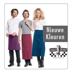 Schorten, sloven, kokskleding voor de Horeca