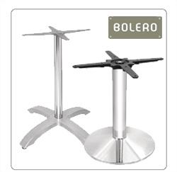 Tafelpoten RVS en Aluminium voor de horeca