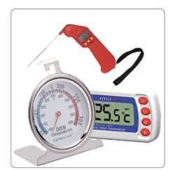 thermometers voor de horeca