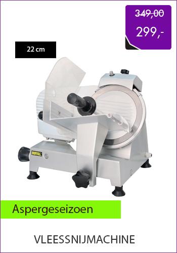 vleessnijmachine 299,- euro