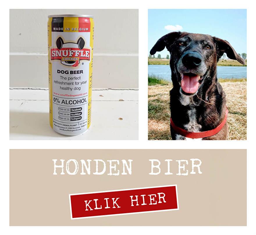 Hondenbier Snuffle dog beer