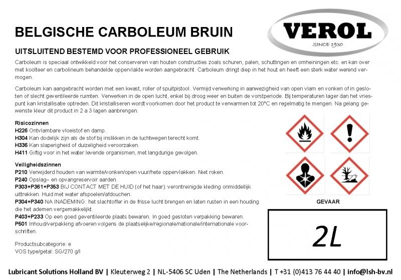 Verol carboleum bruin