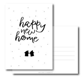Postcard: happy new home