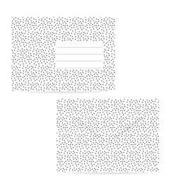 Envelop: stipjes