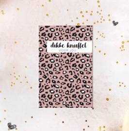 Minikaartje: Dikke knuffel voor jou.