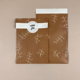 2 Kadozakjes 12 x 19 cm (A6) inclusief sticker