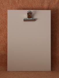 Houten klembord S/A6 perzik roze